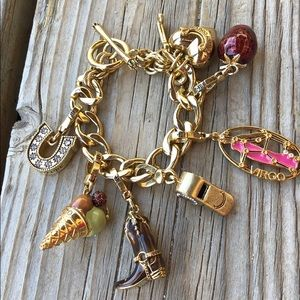 Juicy Couture Cowboy Boot, Whistle Charm Bracelet!